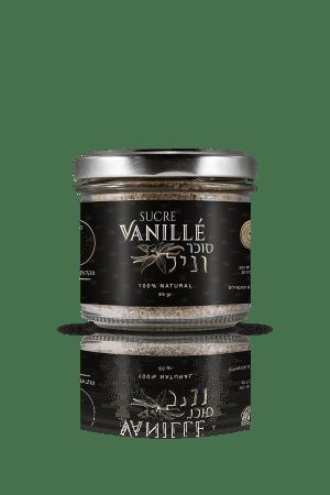 צנצנת סוכר וניל אמיתי של חברת פלאניפוליה עם אבקת וניל בורבון מדגסקר 85 גרם
