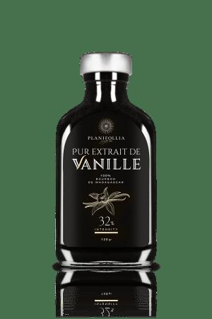 בקבוק תמצית וניל טהורה 120 גרם 32 אחוז של חברת פלאניפוליה