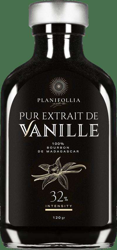 בקבוק תמצית וניל 32 אחוז של חברת פלאניפוליה
