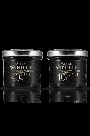 2 צנצנות-מחית-וניל-פלאניפוליה 120 גרם בריכוז 40%